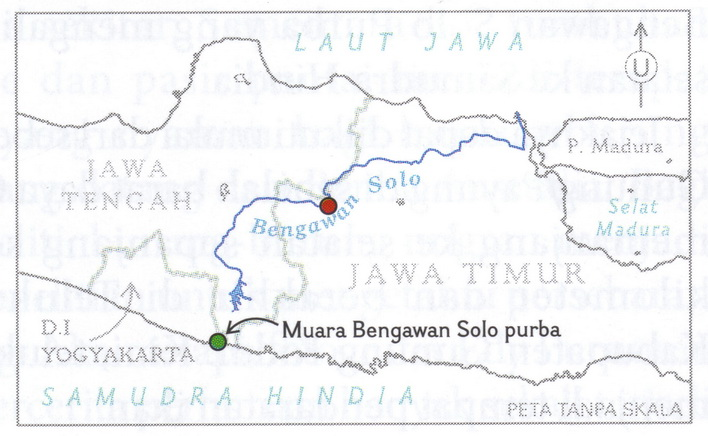 aliran sungai bengawan solo