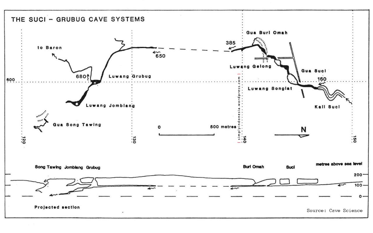sistem sungai bawah tanah goa jomblang